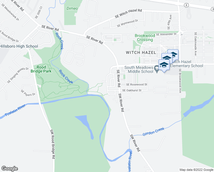 Southeast Willamette Avenue, Hillsboro OR - Walk Score