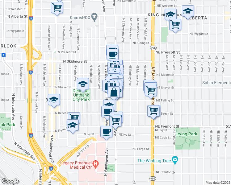 3951 North Williams Avenue, Portland OR - Walk Score on portland highway map, carson city california map, kaiser east interstate portland, kaiser interstate campus map,