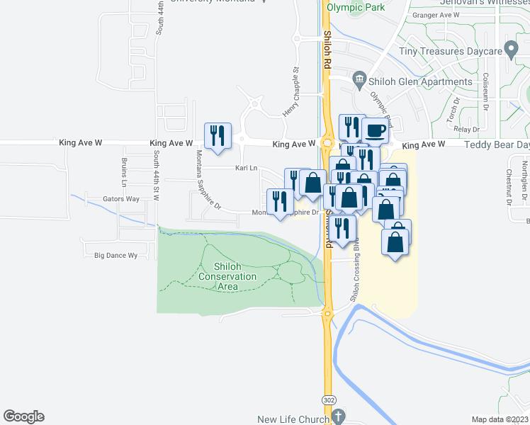 Montana Sapphire Drive, Billings MT - Walk Score