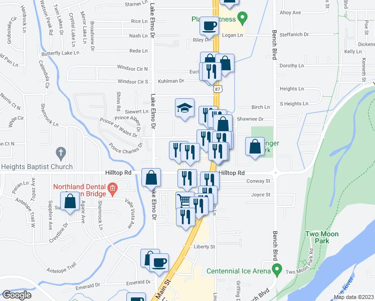 513 Hilltop Road, Billings MT - Walk Score
