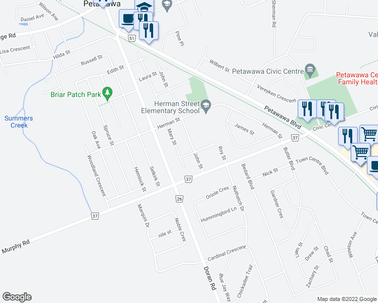 Petawawa (ON) Canada  City new picture : ... coffee shops, grocery stores, and more near 8 Roy Street in Petawawa