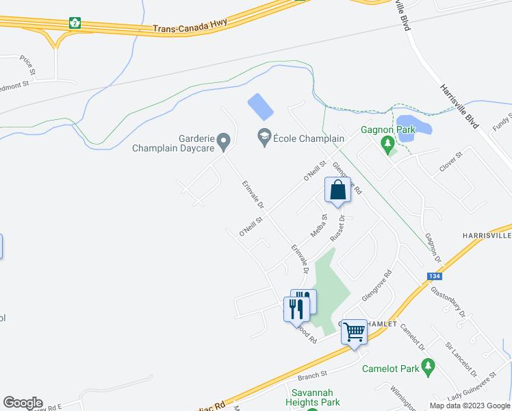 197 Erinvale Drive Moncton Nb Walk Score