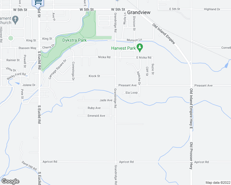map of restaurants, bars, coffee shops, grocery stores, and more near 1180 Grandridge Road in Grandview