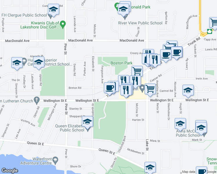 95 Breton Road, Sault Ste. Marie ON - Walk Score on map of malayalam, map of ainu, map of aymara, map of gullah, map of germanic, map of siksika, map of cantonese, map of urdu, map of kurdish, map of pali, map of aleut, map of finnish, map of thomas county, map of oromo, map of croatia, map of middle english, map of baluchi, map of quechua, map of xhosa, map of lingala,