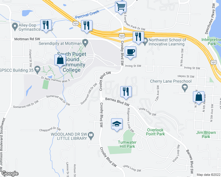 Restaurants Near I  Tumwater Wa