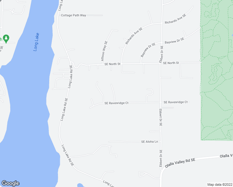 map of restaurants, bars, coffee shops, grocery stores, and more near 7465 Alpineridge Place Southeast in Port Orchard