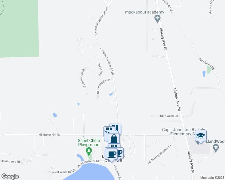 5257 Lynwood Center Road Northeast, Bainbridge Island WA ... on road map of wenatchee wa, road map of everett wa, road map of bremerton wa, road map of skagit county wa, road map of arlington wa, road map of sedro woolley wa, road map of kent wa, road map of cheney wa,