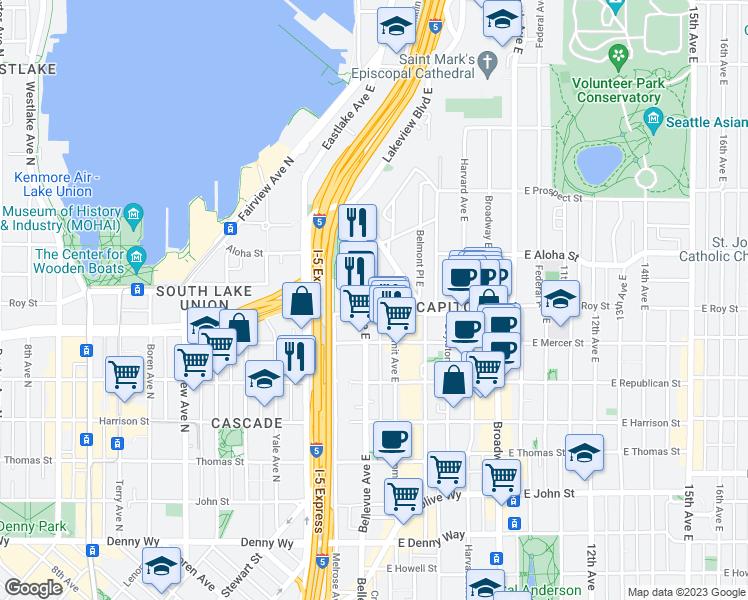 714 Bellevue Avenue East Seattle Wa Walk Score