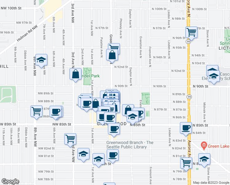 8750 Greenwood Avenue North, Seattle WA - Walk Score