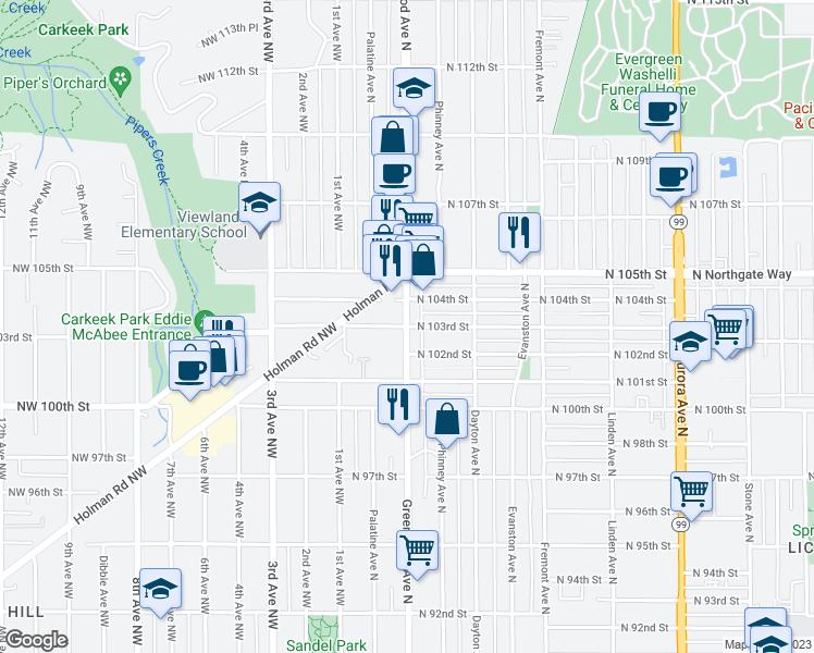 10300 Greenwood Avenue North, Seattle WA - Walk Score