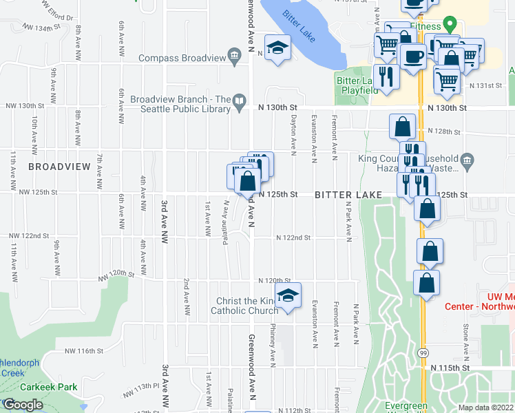 12250 Greenwood Avenue North, Seattle WA - Walk Score