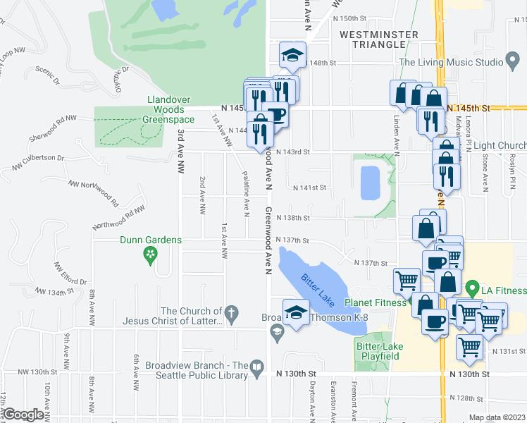 13809 Greenwood Avenue North, Seattle WA - Walk Score