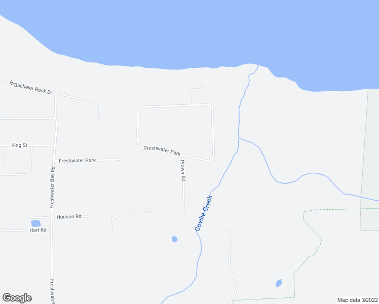map of restaurants, bars, coffee shops, grocery stores, and more near 553 Freshwater Park in Port Angeles
