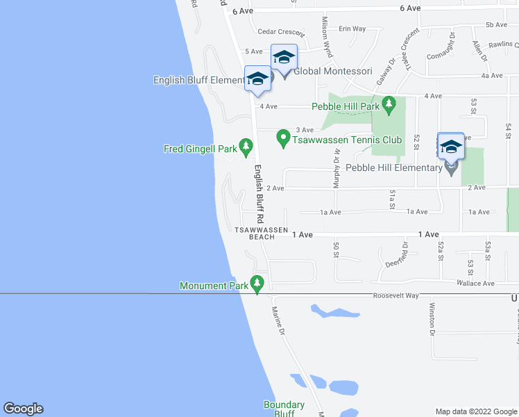 map of restaurants, bars, coffee shops, grocery stores, and more near 163 English Bluff Road in Delta