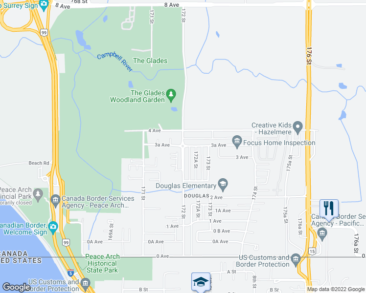 Surrey Canada Map.17226 3a Avenue Surrey Bc Walk Score