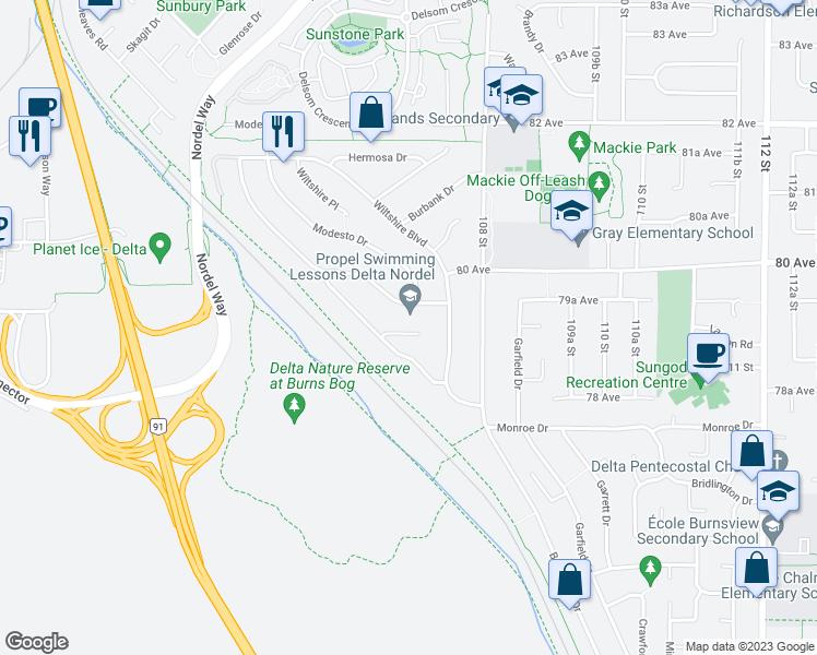 10683 Santa Monica Place, Delta BC - Walk Score
