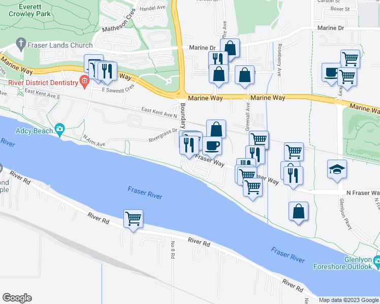 3738 North Fraser Way, Burnaby BC - Walk Score