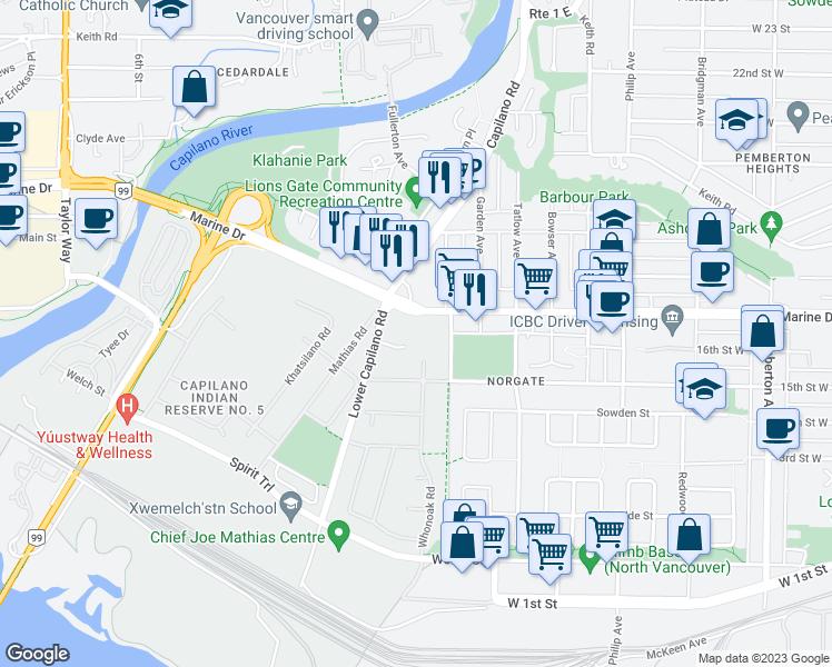 International Plaza Apartments, North Vancouver BC - Walk Score