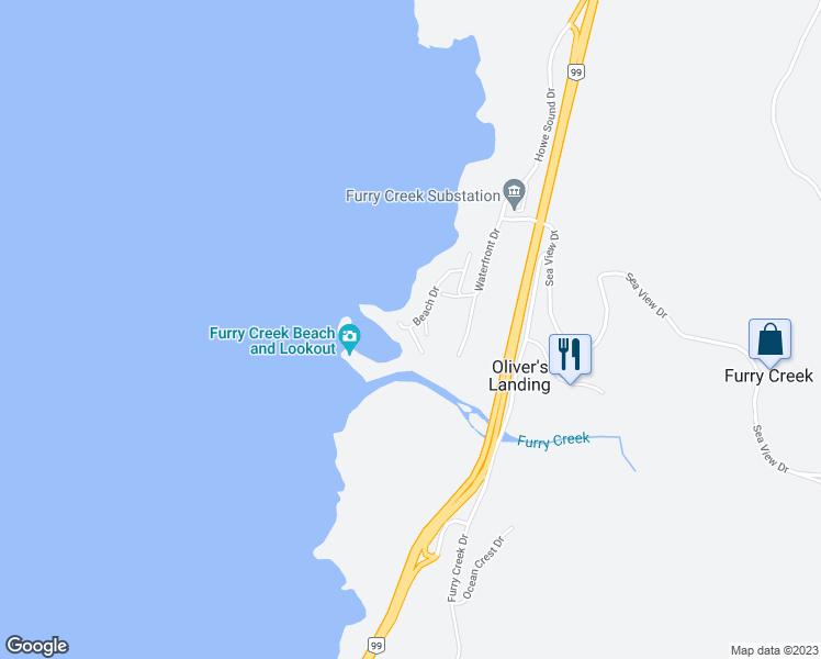 2 Beach Drive, Furry Creek BC - Walk Score