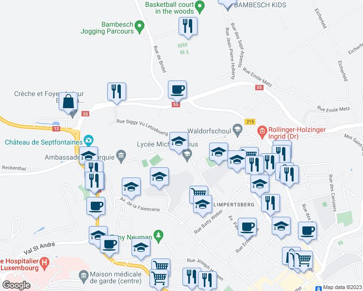 6 Rue Siggy Vu Letzebuerg Luxembourg District De Luxembourg Walk