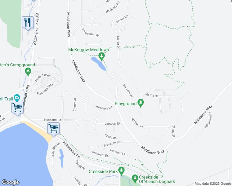 672 Mount Thor Drive, Coldstream BC - Walk Score