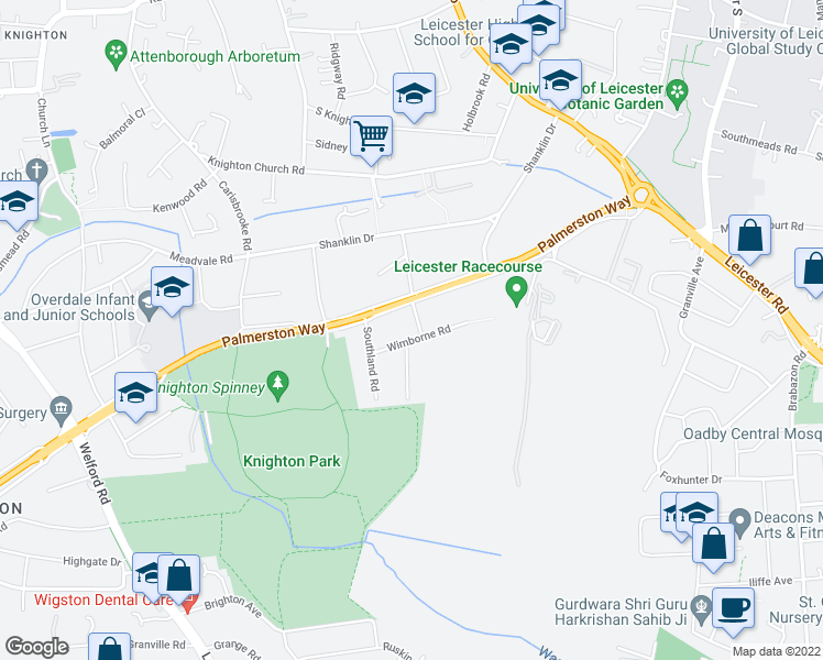 Ventnor Road Leicester England Walk Score