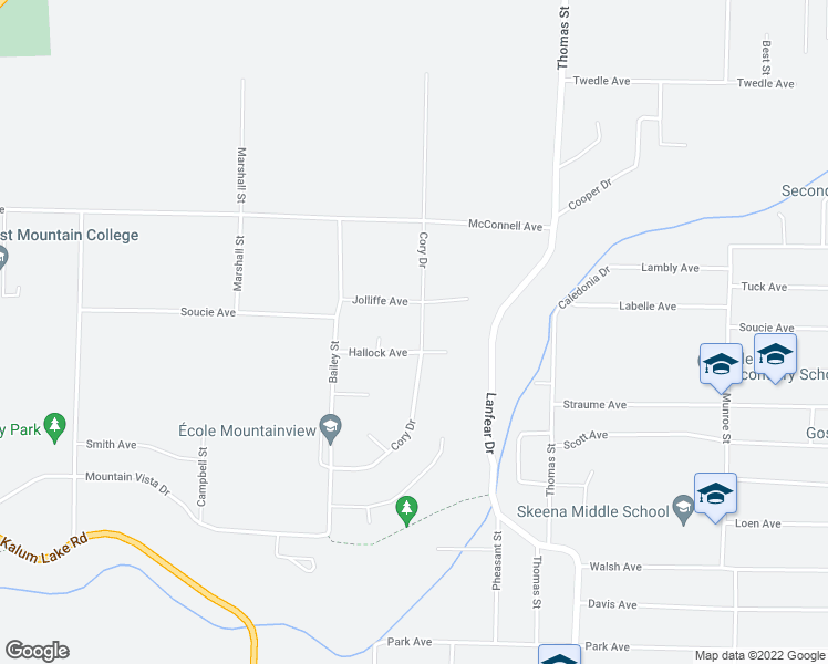 map of restaurants, bars, coffee shops, grocery stores, and more near 3701 Cory Drive in Terrace