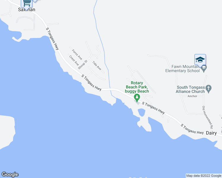 Ketchikan Alaska Map Google.3333 South Tongass Highway Ketchikan Ak Walk Score